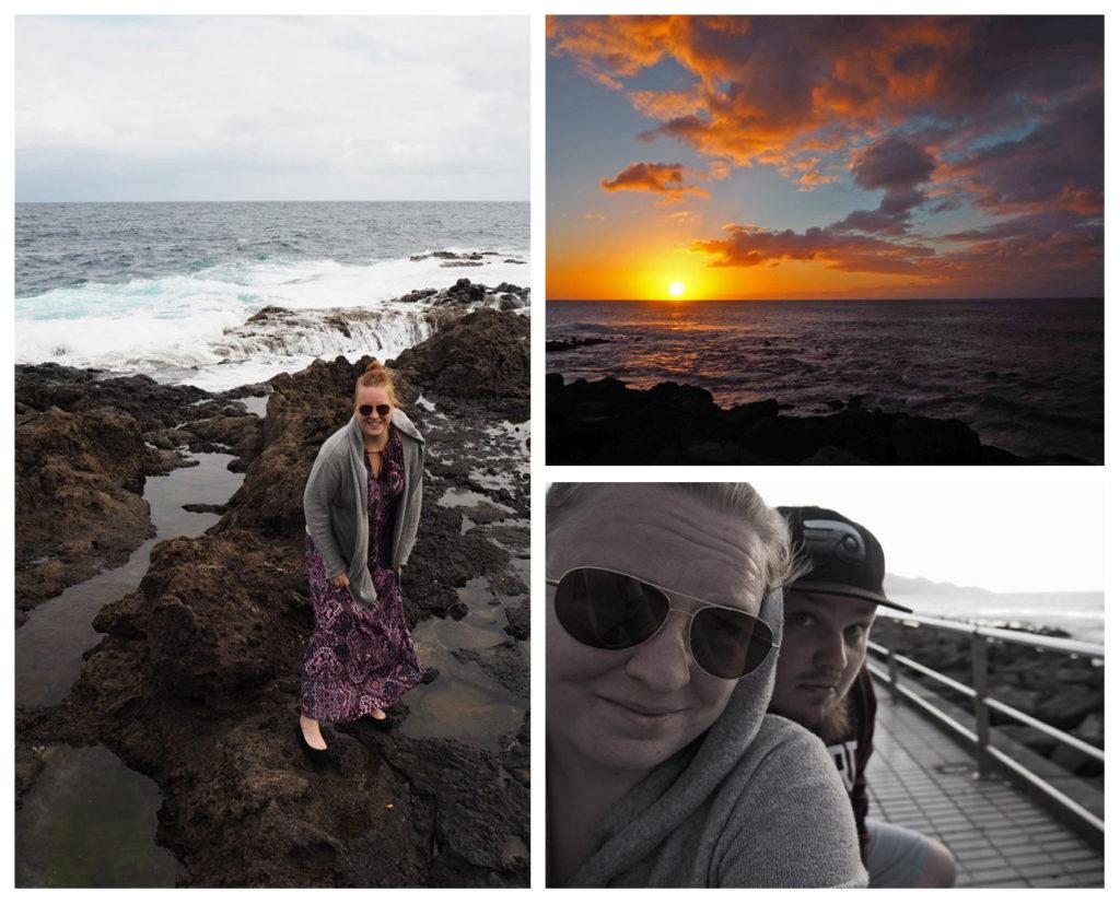 Auringonlasku Gran Canaria