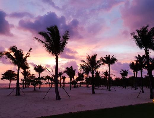 Auringonlasku Phu Quocilla