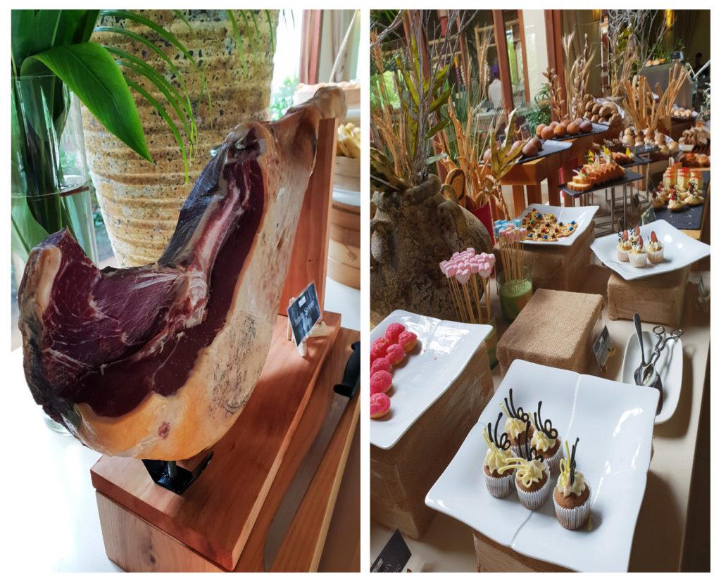 Fusion resort breakfast