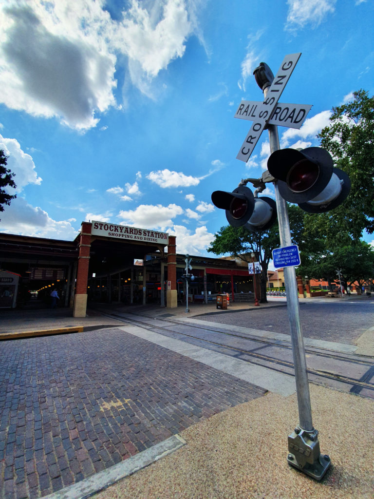 Fort Worth stockyards, Teksas