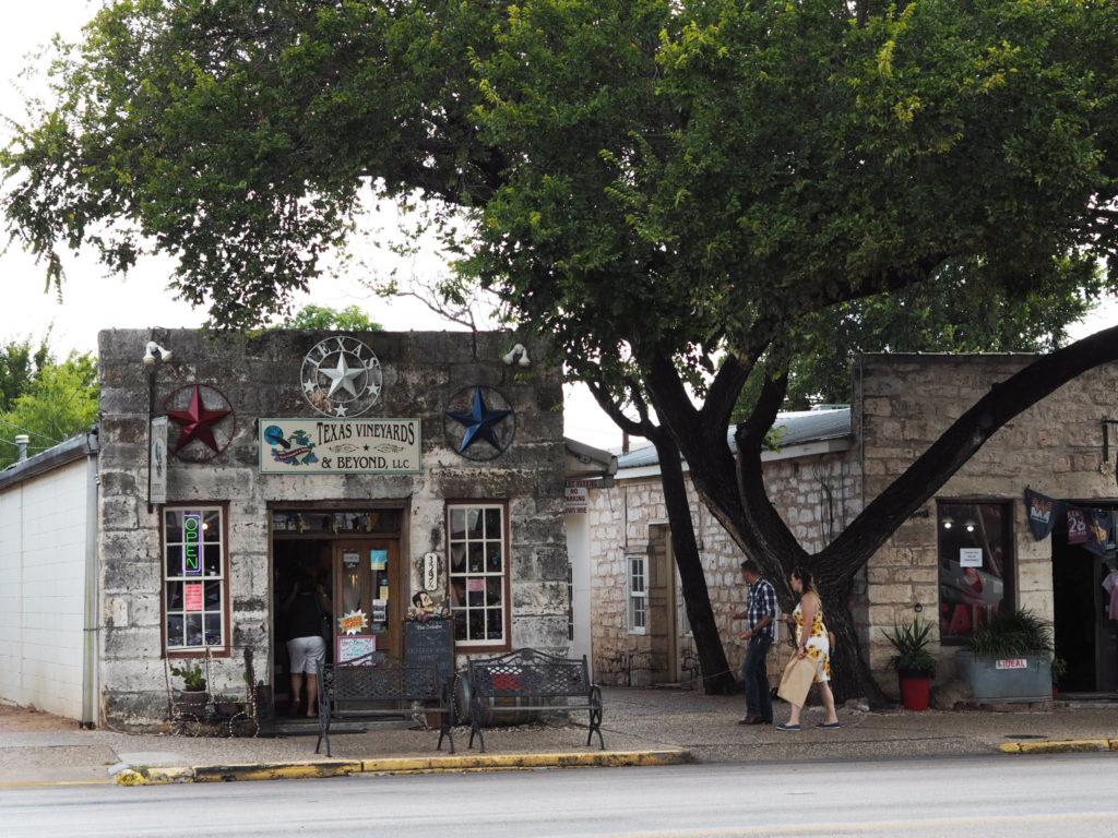 Fredericksburgin pääkatu, Teksas