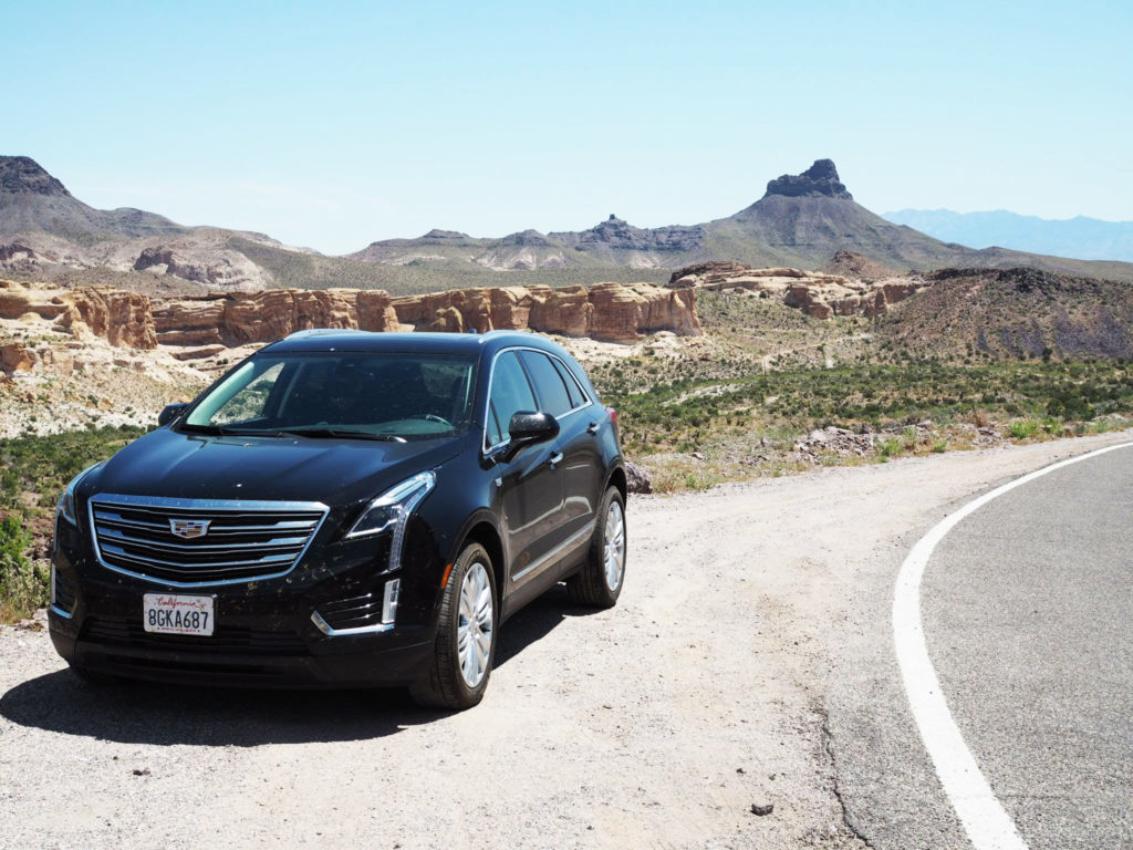 Cadillac XT5 vuokra-auto