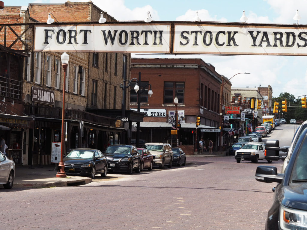 Fort Worth Stockyardsin pääkatu
