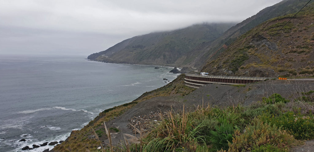 Big Sur, Highway 1, Kalifornia, autonvuokraus USA:ssa