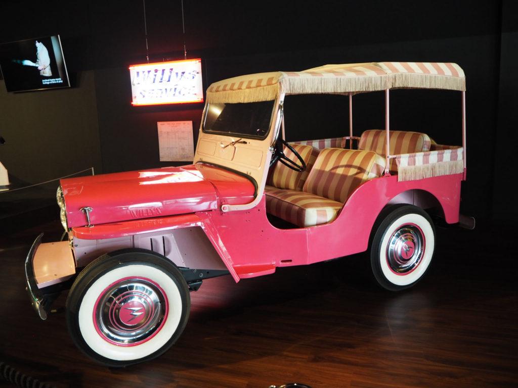 Elvis Presleyn autokantaa