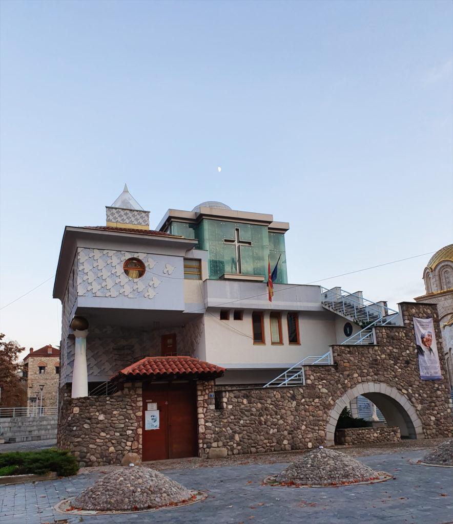 Äiti Teresan museo, Skopje